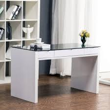 contemporary office desk glass. Desk:Black Computer Desk With Storage Glass Modern Office Black Tempered Contemporary Y