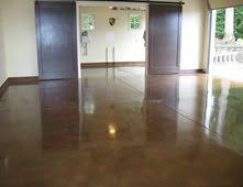 polished concrete floor. Interesting Floor Brown Concrete Polished Concrete Floor  DecoPourHarvey Construction Intended C
