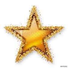 Gamesageddon Stock Stern Symbol Mit Goldenem Rahmen Aus
