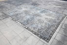 6 7x9 9 gray rug overdyed rug wool rug anatolian