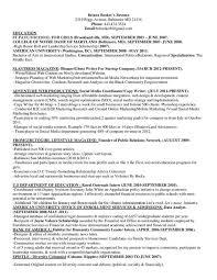 Briana Booker S Resume Spring 2013 Www Fromgirltogirl Com Provides