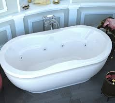 ... Bathtubs Idea, Free Standing Jacuzzi Bathtub Jacuzzi Bathtubs  Innovative Jetted Freestanding Bathtub Monet 34x71 In