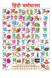 Varnmala In Hindi Chart 100yellow Paper Hindi Varnmala Chart For Children Learning Alphabet Educational Poster Multicolour 12x18 Inches