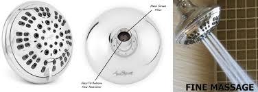 aqua elegante 6 function luxury shower head best high pressure wall mount adjule