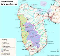 map of guadeloupe  photos diagrams  topos  summitpost