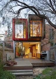Small Picture Exteriors Adorable Modern House With Two Stories And Red Brick