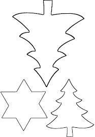 Vorlage Für Sterne Und Bäume Noel Bastelvorlagen
