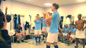 John Stones Dancing After Manchester City Crowned Champions - YouTube