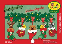 Fischer Fensterbilder Weihnachtsgabenbastelpackungca84x50