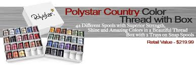 Polystar Thread Color Chart Grand Slam Ii Embroidery Package Details