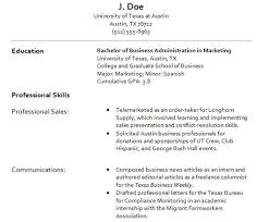 Resume displayed in the most appropriate typeface (Corbel).