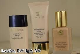 estee lauder double wear light foundation review estee lauder invisible fluid double wear light stay in