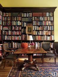 home office library. new york city decorator thomas jayne restored a house in philadelphia to its former glory the library where french empire chairs flank an english home office e
