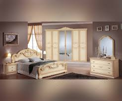 Italian Bedroom Set mcs gioia gioia cream italian bedroom set with 6 door italian 1776 by guidejewelry.us
