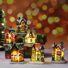 ⭐Nội Thất Nhà Thu Nhỏ Búp Bê Nhà Đèn LED Trang Trí Ánh Sáng Mô Hình Thu Nhỏ  Bằng Nhựa Nhà Thu Nhỏ Đèn Quà Tặng Giáng Sinh Trang Trí: Mua bán