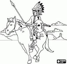 Small Picture Fantastic Indian Colouring Pages 14 Native American Indian