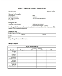 professional report template word template for progress report progress report template 12 free