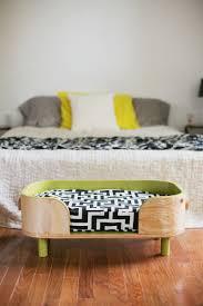 image of nightstand dog bed modern