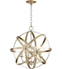 quorum 6009 4 60 celeste 4 light 19 inch aged silver leaf chandelier ceiling