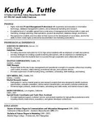 sample resume for graduate school application | Best Resumes ...