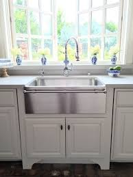 stainless steel farmhouse sink. Brilliant Sink Sure Like The Towel Bar On This Sink Softens Modern Lines But Wonder  If It Would Make More Difficult To Reach Into Sink Inside Stainless Steel Farmhouse Sink N