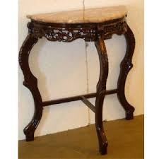 small half moon console table a4841 yl half moon console table21