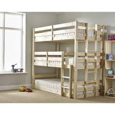 childrens bunk beds. Derby 3 Tier Triple Sleeper Bunk Bed. By Just Kids Childrens Beds