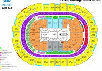 Wells Fargo Wwe Seating Chart The Elegant And Beautiful Ppg Arena Seating Chart Seating
