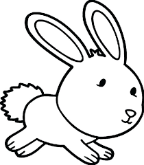Easter Bunny Colouring Pages Printable Cute Coloring That You Can