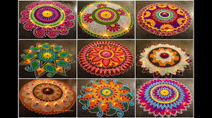 Diwali Rangoli Designs For Competition Best Rangoli Designs For Competition Youtube