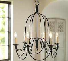 pottery barn chandelier 6 arm indoor outdoor knock off