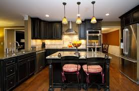 kitchens with black distressed cabinets. Design Simple Distressed Kitchen Cabinets Kitchens With Black E