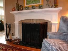 craftsman style fireplace living room with wood paneling ceiling chimney cleaners tiles
