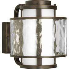 Bay Court Collection Lighting Bay Court Collection Antique Bronze 1 Light Wall Lantern