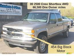 2000 Chevrolet Silverado 2500 LS Crew Cab 4x4 in Light Pewter ...