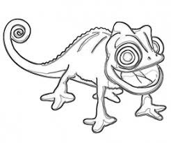 Small Picture 8 Pics Of Disney Tangled Pascal Coloring Pages Rapunzel Tangled