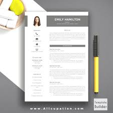 Free Creative Resume Template Word New Resume Cv Template Free Cover