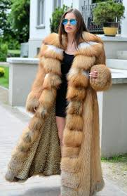 fox furs exclusive royal saga fox fur fantastic long fur coat fox