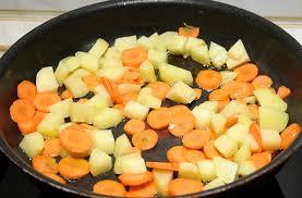 картофель морковь