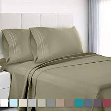 extra deep pocket queen sheets. Plain Extra Premium Queen Sheets Set  Green Sage Olive Hotel Luxury 4Piece Bed Set With Extra Deep Pocket E