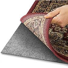 carpet pad thickness. Area Rug Pad With GRIP TIGHT Technology (9x12) | Non Slip Padding Perfect For Carpet Thickness R