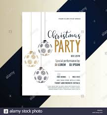 Free Holiday Design Templates Christmas Holiday Party Invitation Flyer Design Template