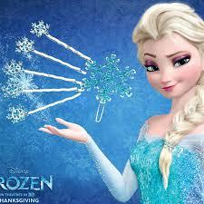 <b>Disney 6pcs</b>/lot <b>Frozen</b> Princess Hair Ornaments Children's Cartoon ...