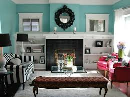Turquoise Color Scheme Living Room Special Concept Brown Sofa With Dark Brown Sofa Decorating Ideas