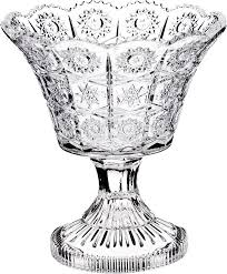 <b>Конфетница Lefard Muza Crystal</b>, на ножке, 17 х 17 х 10 см, 695-016