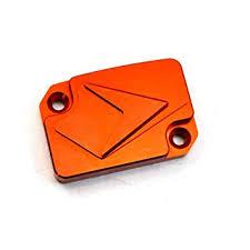 BJ <b>Global CNC Motorcycle Orange</b> Front Brake Fluid Reservoir ...