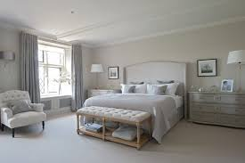 country master bedroom designs. Example Of A Huge Country Master Carpeted Bedroom Design In Gloucestershire With Gray Walls Designs
