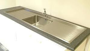 double drainer kitchen sinks uk single bowl inset sink top with double drainers double drainer kitchen sinks