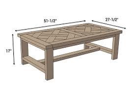 Coffee Table Designs Diy Diy Parquet Coffee Table Free Plans Rogue Engineer