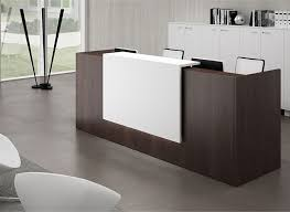 office reception counter. Office Reception Desk Black Counter E